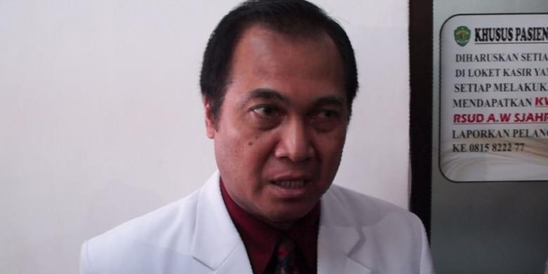 Dokter: Nusyirwan Alami Pecah Pembuluh Darah di Kepala