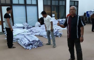 Sisa APK dan BK Paslon Gubernur Kaltim Sudah Tiba di KPU