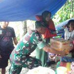 Pasukan Siaga Banjir Korem 091/ASN Diterjunkan ke Kutai Kartanegara