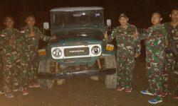 Satgas Pamtas RI-Malaysia Tangkap Mobil Selundupan di Sebatik