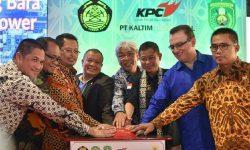 Menteri ESDM Resmikan Excess Power PLTU Tanjung Bara 3X18 MW
