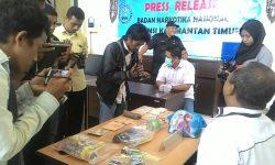 Pebruari dan April, BNNP Kaltim Ungkap Lima Kasus Sabu-sabu di Samarinda