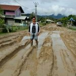 Hujan Lebat Hancurkan Jembatan dan Jalan Penghubung Antar Kecamatan di Krayan