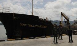 Kapal dari Vietnam Bersih dari Narkotika dan Bahan Berbahaya