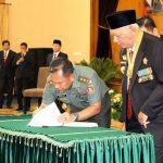 Kodam VI/Mulawarman Terima Hibah Tanah untuk Batalyon Infanteri 612