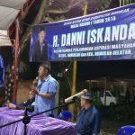 Serap Aspirasi, Danni Iskandar Temui Masyarakat Nunukan dan Sebatik