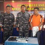 Kurir Sabu-sabu Asal  Samarinda Ditangkap TNI-AL di Sebatik