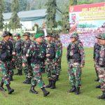 Pangdam VI/Mulawarman Buka Apel Dansat Tersebar Tahun 2018