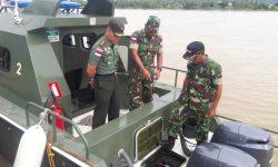 Dandim 0910/Malinau Uji Coba Operasikan Speedboat