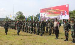 Danrem 091/ASN Tutup Opster TNI di Perbatasan RI – Malaysia