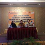Rumuskan Materi Debat, KPU Kaltim Gelar FGD di Balikpapan