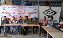 Persatuan Warga Kampung Ongko Asa Menolak Tambang Batubara