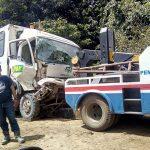 Bis Vs Truck Sawit, Karyawan Pama Selamat