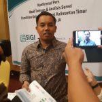 Urusan Pendaftaran Pemilih, LSI Denny JA Puji Kinerja KPU Kaltim