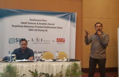LSI Denny JA: Mayoritas Perempuan Pilih Rusmadi-Syafaruddin