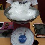 Polres Nunukan Amankan Sabu 1 Kilogram dan 4 Orang Terduga Anggota Jaringan Narkotika