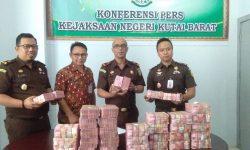 Sutedjawidjaya Masih Harus Mengembalikan Uang Negara Rp4,9 Miliar