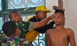 Korem 091/ASN Seleksi Calon Bintara Putra Asli Daerah