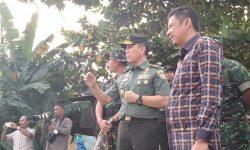 Irjenad Mayjen TNI Jhoni L Tobing Kunjungi Lokasi TMMD di Bontang