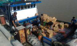 KPPBC Nunukan Terima Limpahan Perkara Kapal Tangkapan Mabes Polri