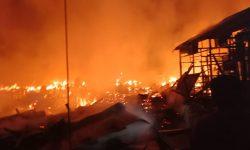 Kerugian Akibat Kebakaran di Sungai Meriam Ditaksir Rp5 Miliar