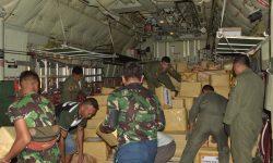 Peduli Gempa Lombok, TNI-Polri di Kaltara Salurkan Bantuan 11 Ton