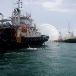 Tug Boat Trans Power 204 Terbakar di Perairan Sangatta