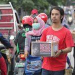 Aksi Galang Dana Peduli Lombok dari Forum Jurnalis Bontang