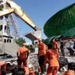 Menteri PUPR Mobilisasi Alat Berat Tangani Kerusakan Akibat Gempa Lombok