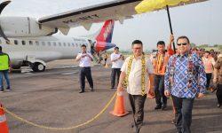 Pagi Tadi, NAM Air Mendarat Bandara Tanjung Harapan Bulungan