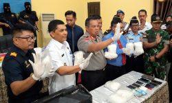 Polisi dan Bea Cukai Nunukan Amankan 9,226 Kilogram Sabu