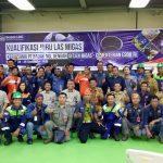 PT Badak LNG  Bontang Prakarsai Sertifikasi Tukang Las