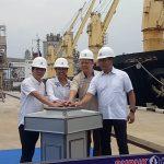 Menteri BUMN Lepas Kapal Ekspor Pupuk 25.100 Ton di Bontang