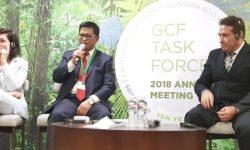 Irianto Lambrie di GCF: Pemprov  Kaltara Berkomitmen Menjaga Kelestarian Lingkungan