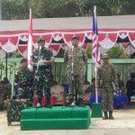 TNI dan TDM Patroli Bersama di Perbatasan