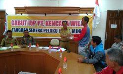 Warga Kampung Ongko Asa Tetap Tuntut IUP PT Kencana Wilsa Dicabut