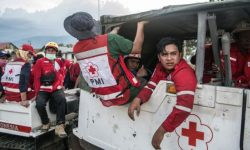 Jumlah Korban Meninggal Dunia Gempa-Tsunami di Empat Daerah  Lebih dari 1.234 Orang