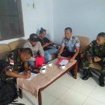 Satgas Pamtas Amankan Oknum Polisi Malaysia Penyelundup Miras