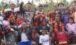 Relawan PP Kaltim Jangkau Kawasan Terpencil di Donggala dan Sigi dengan Motor Trail