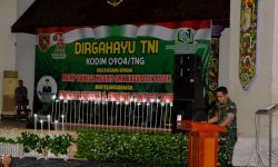 Kodim Tanah Grogot Gelar Lomba English Speech and Singing Contest