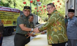Korem 091/ASN dan Paramita Foundation Berangkatkan Bantuan ke Palu