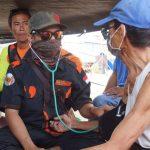 Perhari Relawan PP Kaltim Sambangi Tiga Tenda Pengungsi di Palu