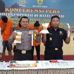 Polres Nunukan Amankan 5 Tersangka Sabu Asal Makassar