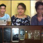 Muter-muter di Berbas, Tersangka Pengguna Sabu Ditangkap Polisi