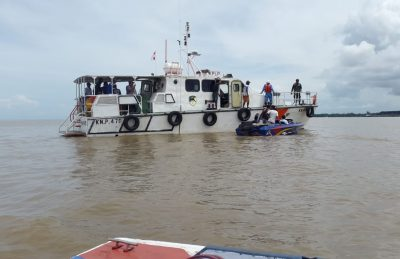 Tim SAR Belum Temukan 2 ABK TB Fortunsius yang Tenggelam di Perairan Bunyu