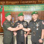 Danrem 091/ASN Pimpin Sertijab Dandim Tanjung Selor dan Bontang