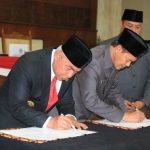 Gubernur dan DPRD Kaltim Setujui APBD Tahun Anggaran 2019 Rp10,75 Triliun