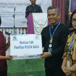 Peduli Pendidikan, PT Wahana Ottomitra Multiartha Serahkan Bantuan ke SMK Galilea Bontang
