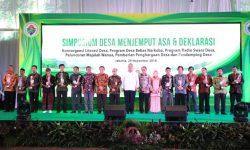 Desa di Tenggarong Seberang, Sebatik Tengah, dan Malinau Kota Raih Penghargaan Desa Terbaik 2018