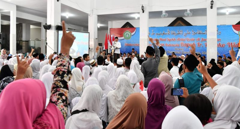 Presiden Jokowi Ajak Masyarakat Jaga Ukhuwah Kebangsaan